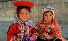 Peruvian children.