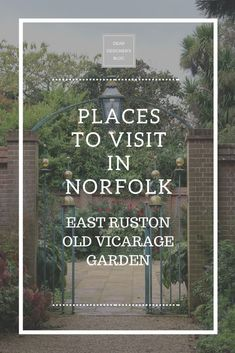 East Ruston Old Vicarage Garden - Dear Designer