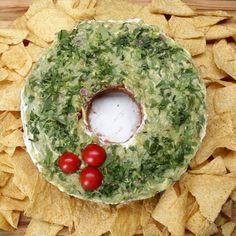 5-layer Dip Wreath Recipe by Tasty