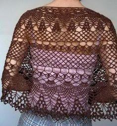 Crochet Shawls: Crochet Lace - Elegant Lace Wrap for Ladies