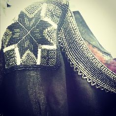 Love the beadwork on the neckline of this Joie A La Plage tunic.