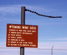 wyoming wind sock