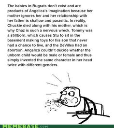 Rugrats explained..... Whaaaaat?? Seriously?
