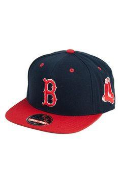 Men s American Needle  Boston Red Sox - Blockhead  Snapback Baseball Cap -  Blue Boston 5982596e8bac