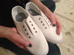 Justine Magazine   DIY sparkle sneakers