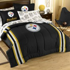 NFL Pittsburgh Steelers Bedding Set by Northwest. $77.90