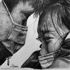25 Beautiful Pencil Drawings from top artists around the world Pencil Portrait Drawing, Mask Drawing, Fine Art Drawing, Portrait Sketches, Portrait Art, Drawing Faces, Beautiful Pencil Drawings, Realistic Pencil Drawings, Pencil Art Drawings