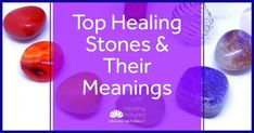 """Discover 5 top healing crystals and their meanings. These are our recommended stones for energy work and we believe are a """"must have"""" in your healing kit. Chakra Healing Stones, Healing Crystals, Healing Words, Interpersonal Relationship, Crystal Meanings, Lucid Dreaming, Natural Energy, Psychic Abilities, Negative Emotions"""
