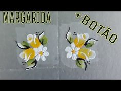 Fabric Painting, Nail Designs, Nail Art, Nails, Flowers, Youtube, Nail Wraps, Pop Tab Crafts, Crochet Flowers