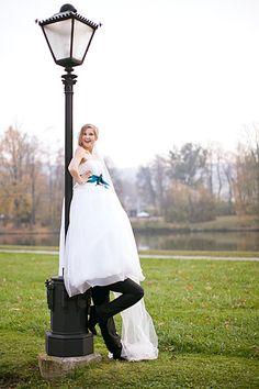"""cute wedding photos... """"tall bride""""   via reddit: http://imgur.com/a/oh5sP"""