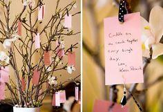 'good wishes' tree