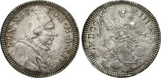 NumisBids: Numismatica Varesi s.a.s. Auction 65, Lot 830 : BENEDETTO XIV (1740-1758) Doppio Giulio 1753 A. XIV, Roma. Munt....