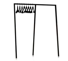 Look for Less:  Hay Standing Wardrobe