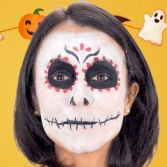 Fantástico maquillaje de Catrina para #Halloween