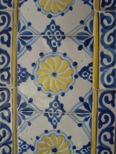Mexican kitchen tiles