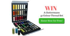 Win a Gutermann 42 Colour Thread Set! Sewing Hacks, Sewing Crafts, Competition Giveaway, Tool Belt, Sewing Stitches, Sewing Rooms, Nurse Gifts, Birdhouse, Craft Tutorials