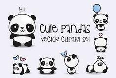 kawaii panda ile ilgili görsel sonucu