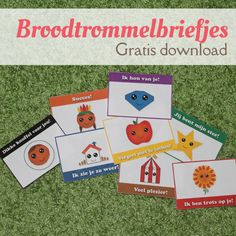 MizFlurry: Broodtrommelbriefjes - gratis download