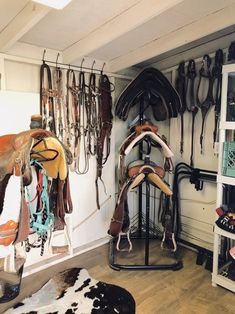 Tour a California Tack Room with Western Style - STABLE STYLE