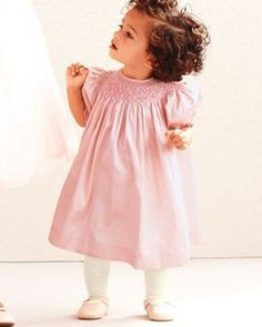 Silk Smocked Dress by Luli and Me - Baby Girls