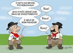 Brasil... Pais de risco a nível financeiro?!...