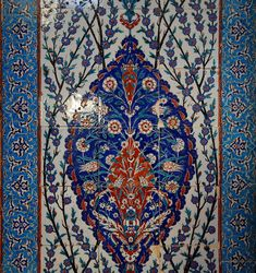 atik valide camii / Tiles in Iznik, Turkey
