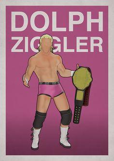 WWE - Dolph Ziggler illustration http://www.something-studio.com http://www.twitter.com/something_says http://www.facebook.com/something.design