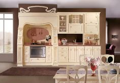 Art Nouveau: Once you've made a decision in style, you can go down to the nitty gritty – like the kind of cabinets you need and the amount of storage necessary? Planning for the addition of food items is also wise that you would not exceed your kitchen, even before its end.