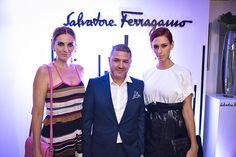 Ferragamo celebró 'El esplendor de la Vida' con su nueva #colección Primavera Verano 2016.