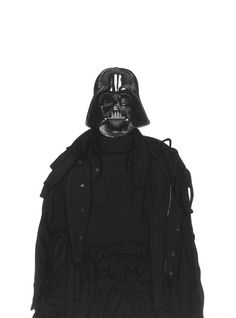 David Murray Illustration - Darth Vader wearing Craig Green Fall 2015 Collection