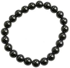 8mm Hematite (man-made) Bracelet
