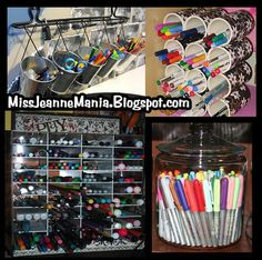 Cool ways yo fix your pens, pencils, and whatever writing implements that you have