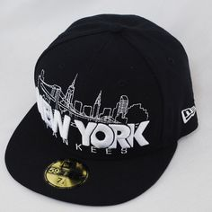 New Era 59fifty New York Yankees City Series Navy Fitted Cap Hat c1979624c2d