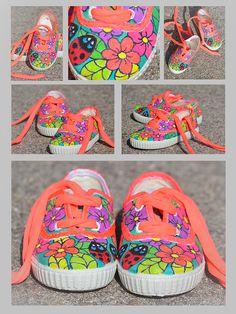 zapatillas pintadas a mano  zapatillaspintadasamano 8d3e8056143