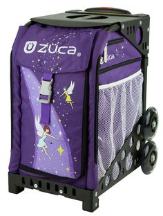 FAIRYTALE ZUCA BAG Fairies, stars, and magic dust cast a stylish spell that travels with you everywhere you go!