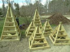 Planter Plans Flower Tuteur Woodworking Plan Support Plantes Grimpantes Diy Outdoor