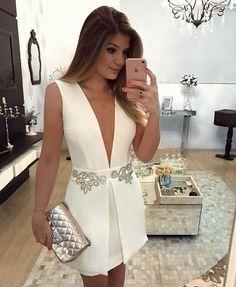 Look! Маленькое белое платье! 5