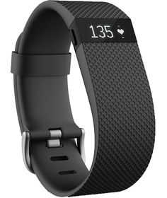 Buy Fitbit Charge HR Small Heart Rate Monitor Wristband - Black at Argos.co.uk - Your Online Shop for Fitness and activity trackers.