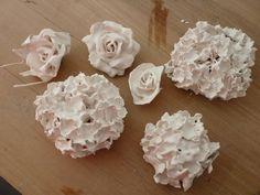 bloemen van porselein