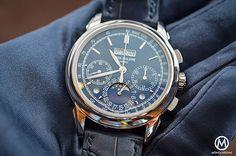 2b505c9f8e Patek Philippe 5270 Perpetual Calendar Chronograph Blue - glove Patek  Philippe