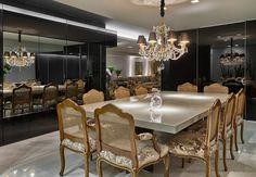 Sala de jantar e cozinha integradas!