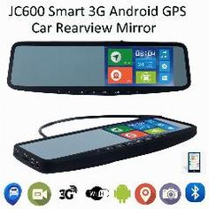 [ $168 OFF ] Jimi Jc600 Smart Car Interior Rear View Mirror 5Inch Clip On Universal Strap 3G Android Gps Navigation Gps Tracker Bt 1080P Dvr
