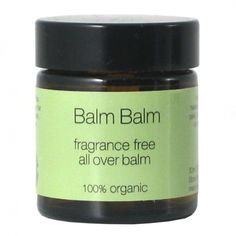 Balm Balm Fragrance Free All Over Balm 30ml  Balm Balm Fragrance Free All Over Balm is free from essential oils for those who dislike fragrance or are extremely sensitive.   Suitable for all including new born babies and during pregnancy.  Benefits: Soil Association Certified. Cruelty Free.  £6.99  #organic #natural #skincare