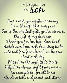For Bernard and Brandon. All the son's of the world!