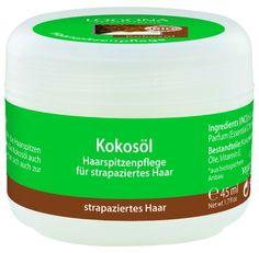 Aceite de coco capilar de Logona – Para sellar las puntas abiertas e hidratar el pelo seco - Ecobelleza, cosmética ecológica certificada