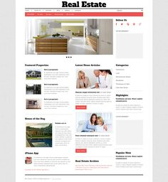 Real Estate Agency - WordPress Template
