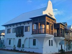 Casa al Fin in Rosemary Beach Vacation Rentals Beach Vacation Rentals, Vacation Trips, Carriage House Plans, Vacation Wishes, Classic Architecture, Architecture Design, Rosemary Beach, Seaside Towns, Waterfront Homes