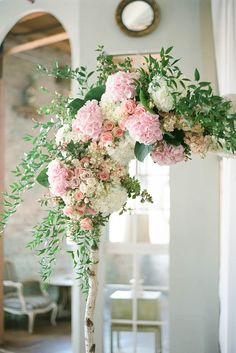 Floral Ceremony Arch Decoration Ideas ❤ See more: http://www.weddingforward.com/wedding-arch-decoration-ideas/ #weddings