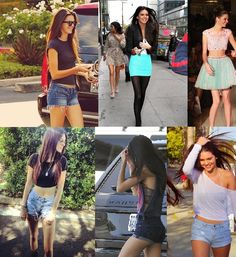 Love Kendall Jenners's style!