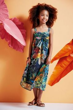 Buy Multi Tropical Print Maxi Dress (3-16yrs) online today at Next: France